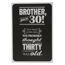 amazon com brother 30th birthday birthday card home u0026 kitchen
