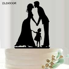 and groom cake toppers aliexpress buy zldecor and groom cake topper acrylic