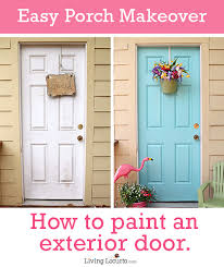 How To Paint An Exterior Door How To Paint An Exterior Door Tree House Porch Makeover