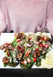 grilled caesar salad with blackened shrimp lexi u0027s clean kitchen
