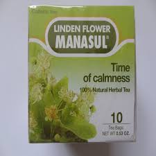 linden flower of calmness linden flower tea by manasul 10 tea bags