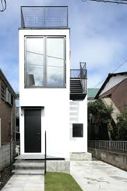 modern home design narrow lot magnificent small lot homes designs contemporary home decorating