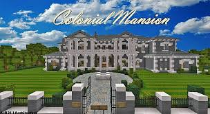 colonial mansion colonial mansion traditional dbs tbs app minecraft project