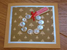 button christmas cards crafty weekend craft projects for the