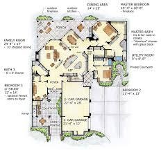 mediterranean homes plans floor plan of florida mediterranean house plan 56549 i
