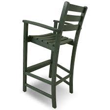 Breezesta Coastal Bar Chair by Trex Outdoor Furniture Monterey Bay 5 Piece Bar Set Monterey