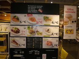 ikea nantes cuisine the menu board picture of ikea food services nantes
