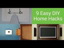 diy hacks home 9 easy home diy hacks youtube
