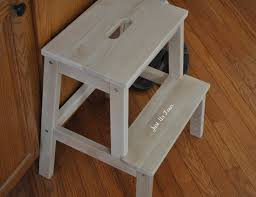 furniture grey wooden wooden step stool kids design with wooden