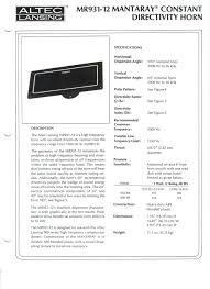 altec lansing home theater 5 1 altec lansing model 14 great plains audio