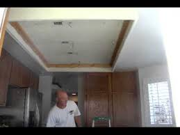 kitchen lighting remodel kitchen ceiling remodel youtube