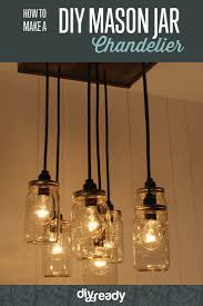 how to make a mason jar chandelier diy projects craft ideas u0026 how