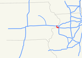 Il Map File Interstate 280 Ia Il Map Svg Wikimedia Commons