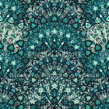 Pattern Ottoman Mandala Seamless Pattern Arabic Indian Islamic Ottoman Stock
