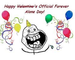 Forever Alone Guy Meme - forever alone valentines day forever alone forever alone day