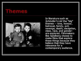 betrayal themes in literature schindler s list there are far too many places where hate