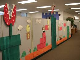 Super Mario Home Decor Decorations Enchanting Cubicle Decorating Ideas For Your Modern
