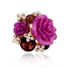flower rings jewelry images 2018 luxury jewelry women rose flower ring fashion crystal rings jpg