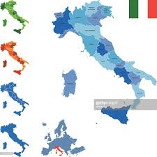 Itsly Map Italy Map Vector Art Getty Images