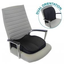 memory foam seat cushion for lower back support seat wedge in desk