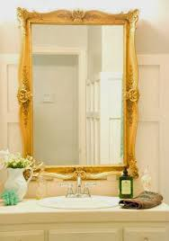 Removing Bathroom Mirror Glued by Remodelaholic How To Remove And Reuse A Large Builder Grade Mirror