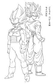 coloring pages coloring pages of dragon ball z characters
