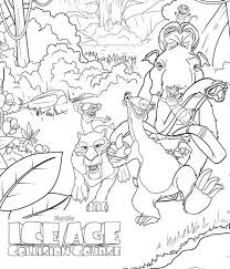 kids n fun co uk 7 coloring pages of ice age collision course