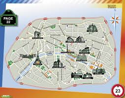 Paris Map Metro by Download Map Of Paris With Landmarks Major Tourist Attractions Maps