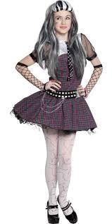 Halloween Costumes Girls Monster Frankie Stein Dress Costume Party