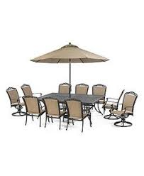 Beachmont Outdoor Patio Furniture Grove Hill Outdoor Patio Furniture 11 Set 90 X 60 Dining