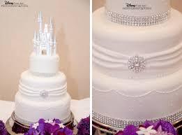 castle cake topper wedding cake wednesday white bling disney weddings