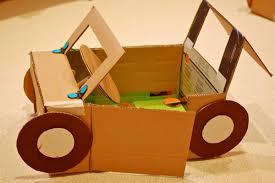 membuat miniatur mobil dari kardus 30 ide mainan dari kardus untuk merangsang kreativitas anak anak