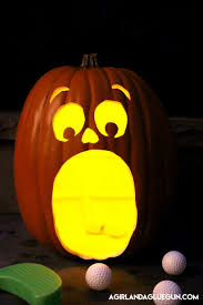 light up halloween buckets pumpkin golf halloween game eighteen25
