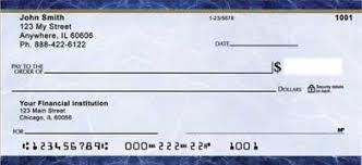 all personal checks
