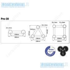 traliccio americano truss circolare gq30 4 m diametro americana supporto