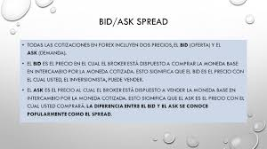bid ask significato material audiovisual diapositivas universidad aut纉noma estado