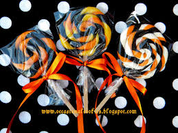 occasional cookies halloween lollipop cookies