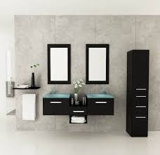 bathroom cabinets wooden double sink wall mounted bathroom