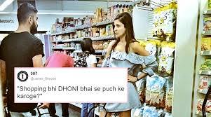 Grocery Meme - anushka sharma virat kohli s grocery shopping photo is now a