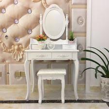 Toy Vanities Kids Vanity Set For Girls Table And Stool Mirror Plastic Makeup