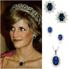 kate middleton diamond earrings princess diana s sapphire jewelry collection diamond necklace