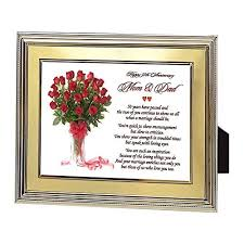 golden anniversary gifts wedding anniversary gifts for parents
