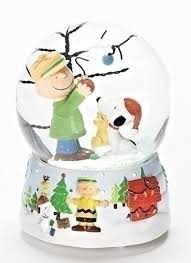 snoopy tree peanuts snoopy and brown 100mm o christmas tree musical