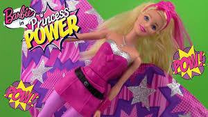 barbie princess power super sparkle doll barbie u0027s cape turns