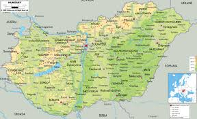 Physical Map Of Europe by Maps Of Hungary Map Library Maps Of The World
