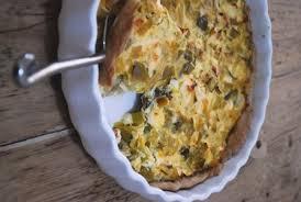 la cuisine de clea tarte aux poireaux à la féta et à l orange clea cuisine