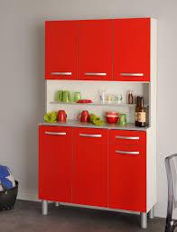 Wohnzimmerschrank Rot Küchenschrank Seamus 1 101x181x44 Weiß Rot Grau Schrank