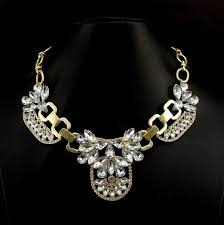 gold plated statement necklace images Free shipping gold plated statement necklaces for women gorgeous jpg