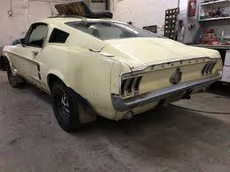 1967 mustang shell for sale 1967 mustang fastback project c code 289 manual solid needs