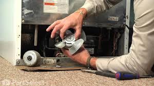 refrigerator condenser fan refrigerator repair replacing the condensor fan motor whirlpool